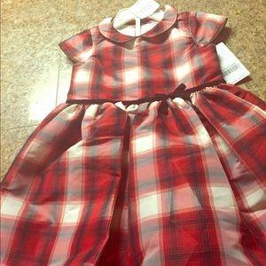 Carter's plaid toddler dress
